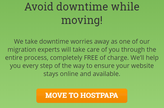 HostPapa Free Site Migrations