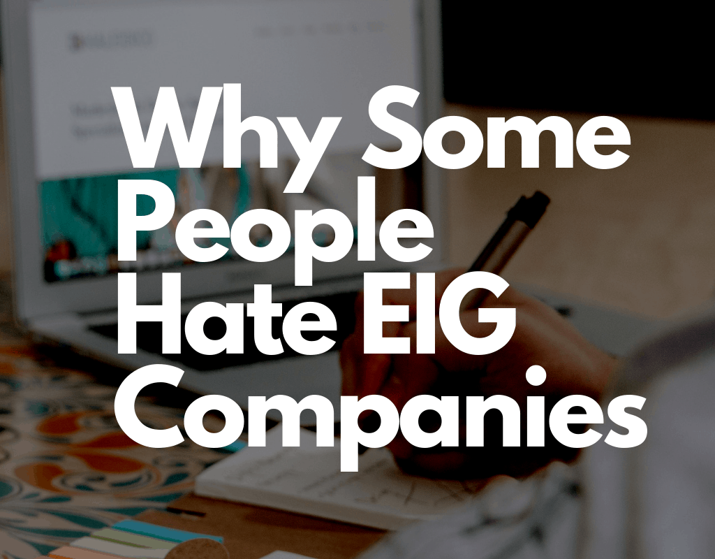 Why People Hate EIG Companies